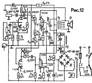 схема электрическая эван